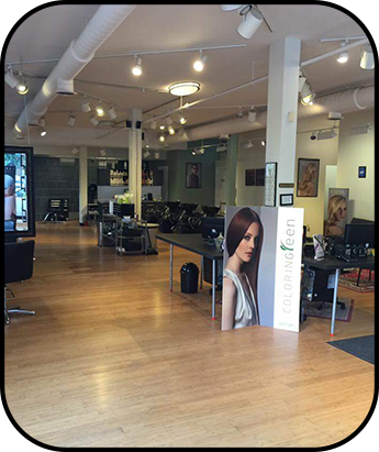 Front View of Inside of Our Hair Salon